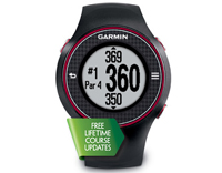 garmin approach s3 dark grey/red