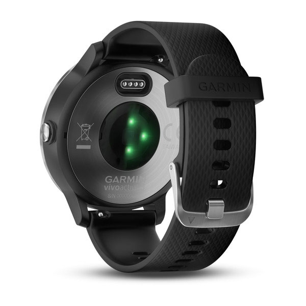 garmin vivoactive 3 black with stainless steel face