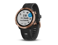 garmin forerunner 645 music black, rose-gold