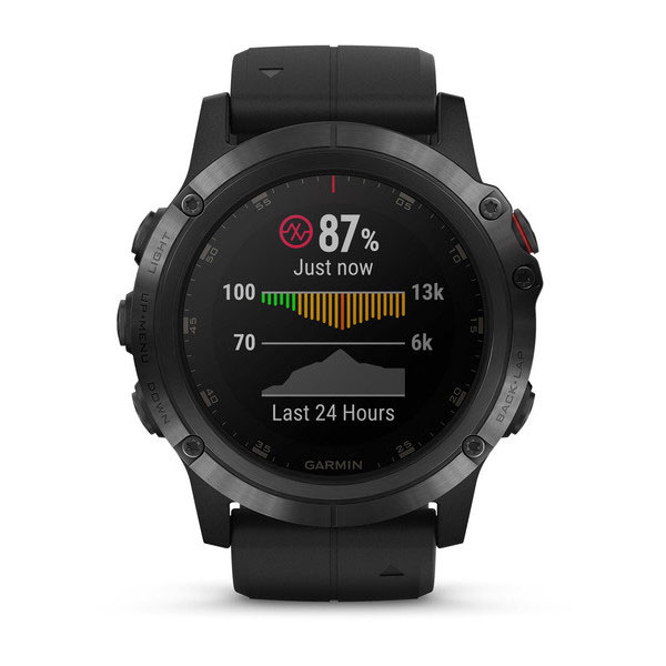 garmin fenix 5 plus black