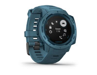 garmin instinct lakeside blue
