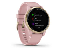 Details for vivoactive 4s Dust Rose / Light Gold
