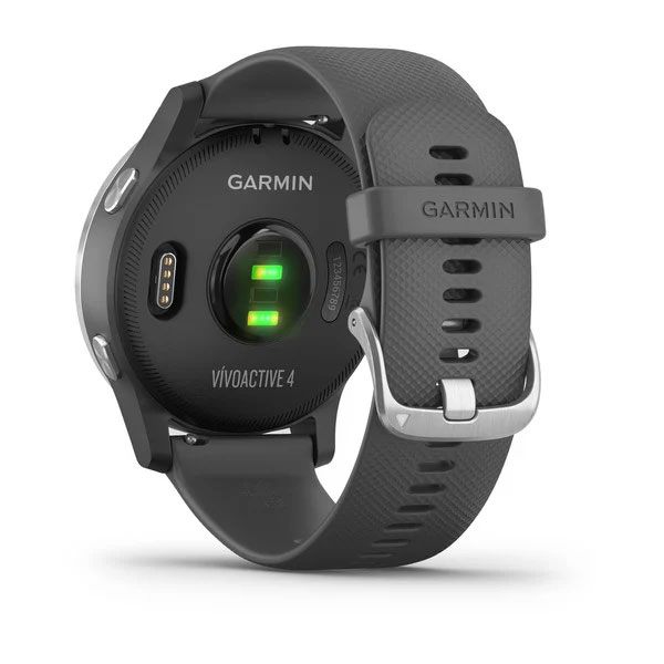 garmin vivoactive 4 music shadow grey with silver