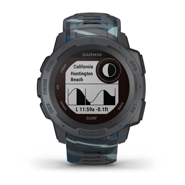 garmin instinct solar surf - pipeline