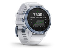 Details for fenix 6 Pro Solar - Mineral Blue / Whitestone Band