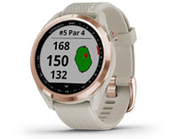 Garmin Approach S42 Rose Gold with Sand band