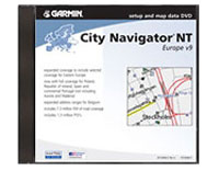 Garmin Mapsource City Navigator Europe NT (DVD)