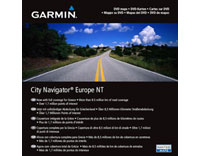 Garmin City Navigator NT, Europe