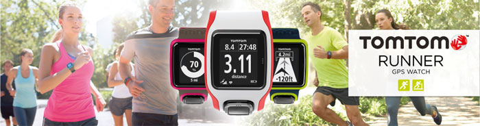 tomtom running watches with wrist based heart rate sensors