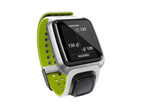 tomtom golfer white green