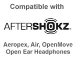 aftershokz headphones compatible with garmin venu