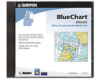 Garmin Mapsource Bluechart Atlantic; Regular Chart