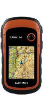 Garmin eTrex 20 with BirdsEye Select Eire