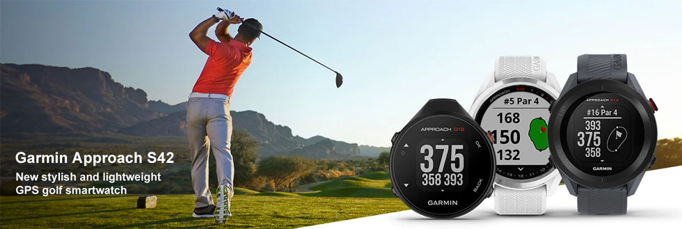 Find out more about the new Garmin Approach S42 series