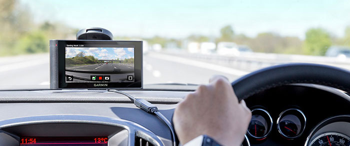 Garmin in-car satellite navigation
