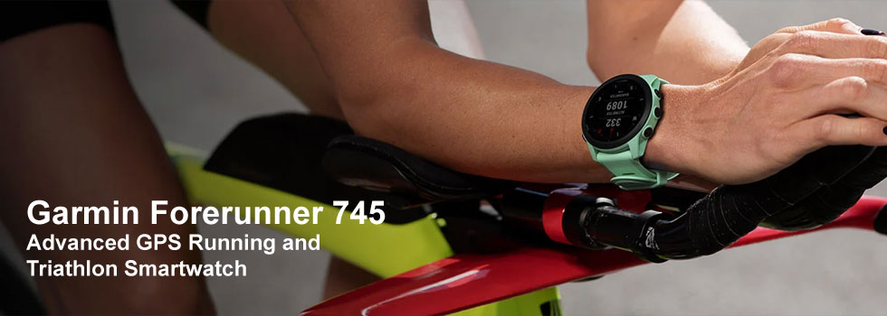Find out more about the Garmin Forerunner 745 series