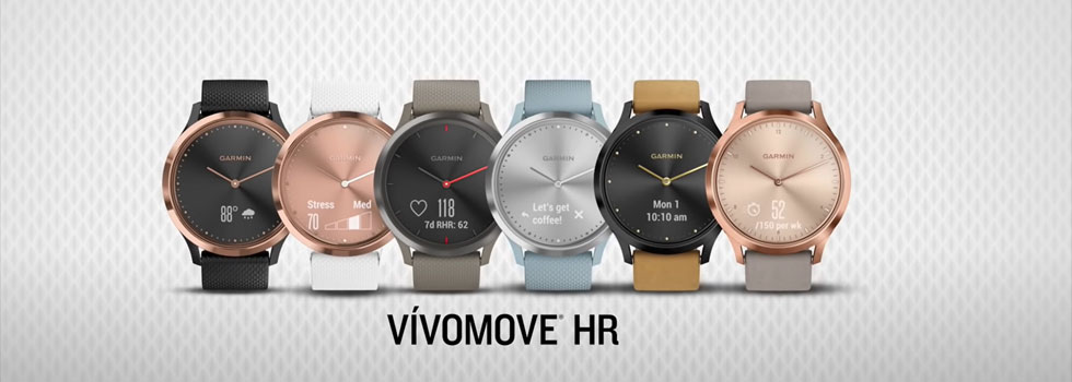 garmin vivomove hr activity trackers