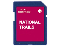 Satmap GB National Trails Premium: Hadrian's Wall Path (OS 1:25k & 1:50k)