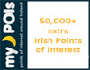 50,000+ extra Irish points of interest
