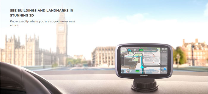 latest tomtom car sat-nav