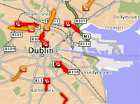 TomTom HD Traffic in Dublin