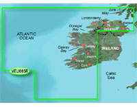 Garmin BlueChart g2 Vision: Ireland, West Coast; Regular EU005R