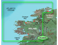 Garmin BlueChart g2 Vision: Ireland North-West; Small EU484S
