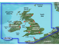 Garmin BlueChart g2 Vision: UK & Ireland; Large EU706L